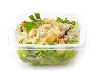 salad in a plastic take away box