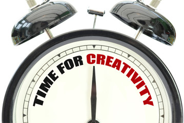 Time for creativity