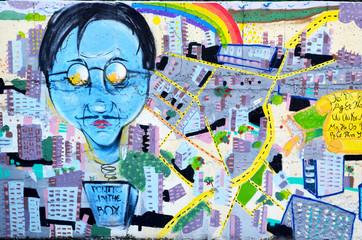 Graffiti Wall Rousse