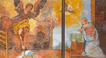 Treviso - Annutciation in saint Nicholas or San Nicolo church.