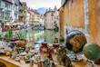 Annecy et le canal du Thiou - 64365766