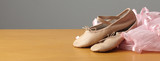 pair of ballet shoes
