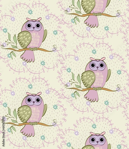 cartoon owls - 64367330