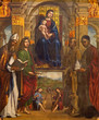 Boplogna - Madonna and the saints in San Giovanni in Monte