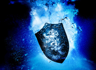 shield underwater