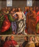 Venice - Resurrected Christ in Saint Nicholas church