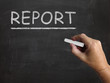 Report Blackboard Means Research Summary And Presenting Findings