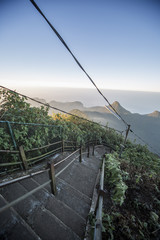 Adam's Peak in Sri Lanka