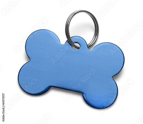 Blue Dog Tag - 64370317