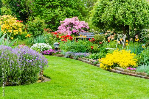 Plexiglas Tuin Gartenidylle