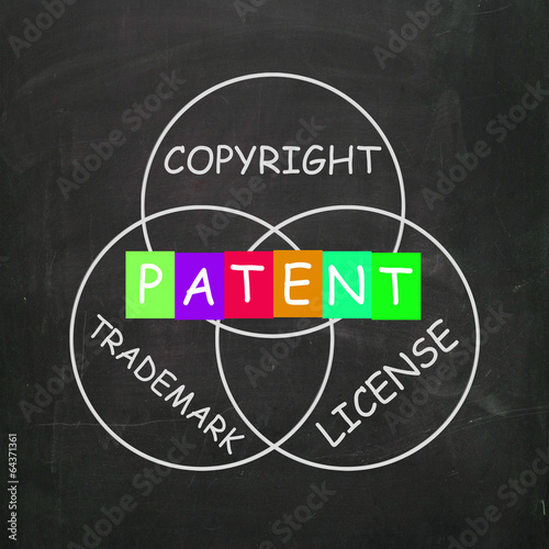Patent Copyright License and Trademark Show Intellectual Propert