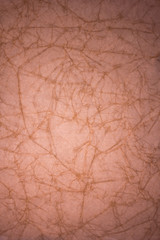 Brown crumpled paper background texture