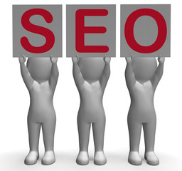 SEO Banners Mean Optimized Web Search And Development