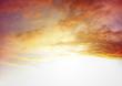 canvas print picture - Bright sky