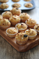 muffins with granola