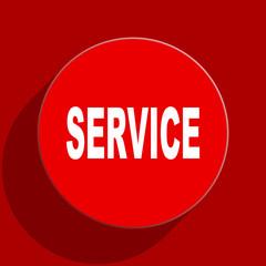 service web flat icon