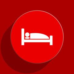 hotel web flat icon