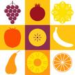 Fruits. Icon Set