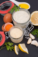 Mayonnaise und Remoulade