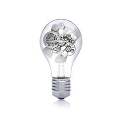 Gears inside the bulb