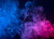 canvas print picture - Abstract smoke