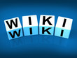 Wiki Blocks Represent Wikipedia and Internet Faqs