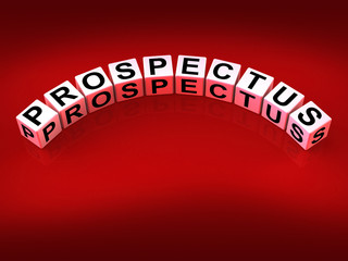 Prospectus Blocks Show Brochures that Advertise Inform and Descr