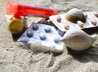 Traitement pour la plage