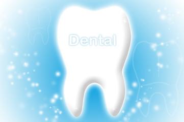 Blaue Dentalbranche