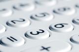 Closeup of calculator keypad - 64378585