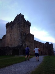 jogging through ross castle
