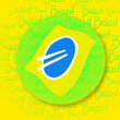 Flag brazil