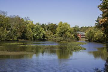 Autumn at the Delaware and Raritan Canal - Horizontal