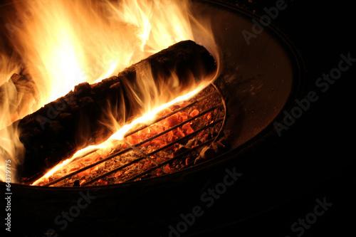 Foto op Aluminium Vuur / Vlam Campfire