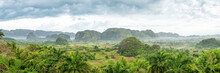 "Постер, картина, фотообои ""Panoramic view of the Vinales Valley in Cuba"""
