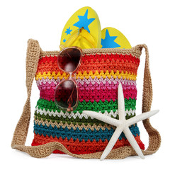 beach accessoires incl. clipping path