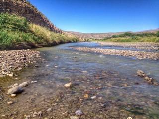 HDR picture of the Rio Grande
