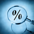 magnify percentage symbol