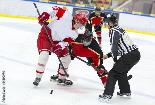 Foto op Aluminium Wintersporten Hockey