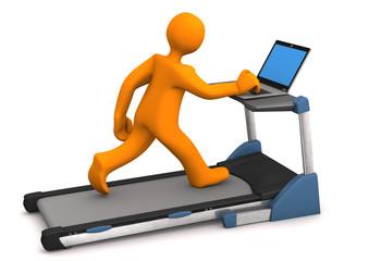 Treadmill Laptop