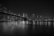 Obrazy na płótnie, fototapety, zdjęcia, fotoobrazy drukowane : Brooklyn Bridge at night, New York