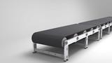 empty conveyor belt - 64392163