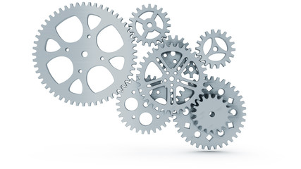 group of gears