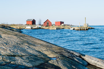 Boathouses and fishing camp