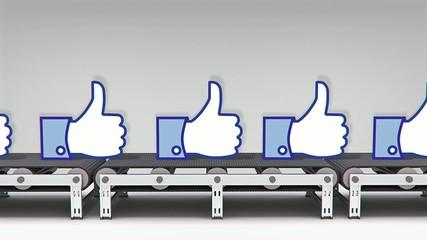 like buttons conveyor