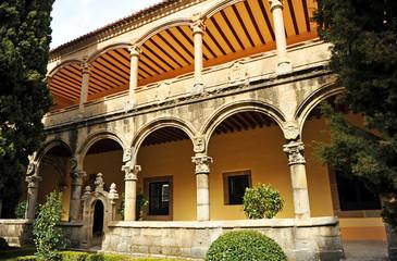 Claustro del Monasterio de Yuste, Carlos V, Extremadura, España