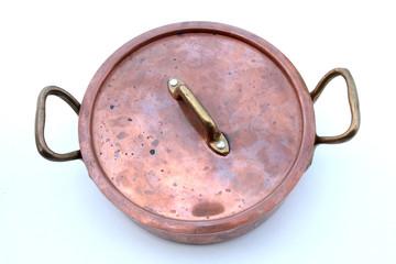 cocotte en cuivre