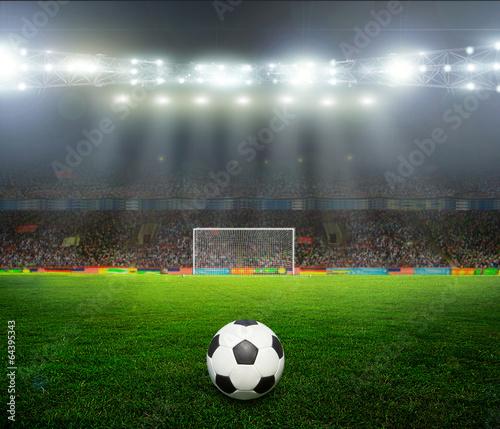 Foto op Canvas Stadion On the stadium.