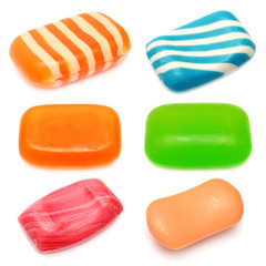 Collection of soap