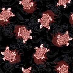亀のパターン